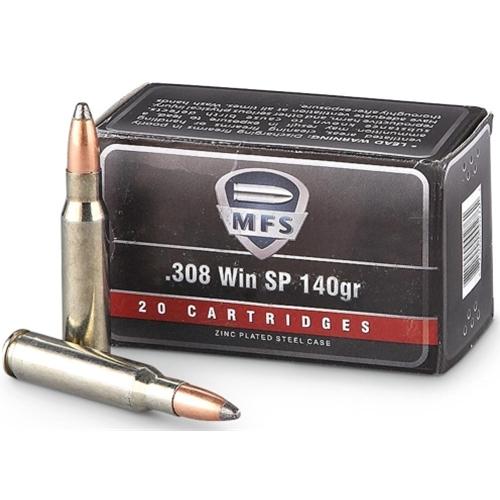 MFS 308 Winchester 140 Grain Soft Point
