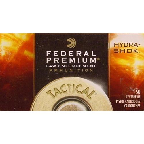 Federal Law Enforcement 38 Special Ammo 129 Gr +P Hydra-Shok JHP