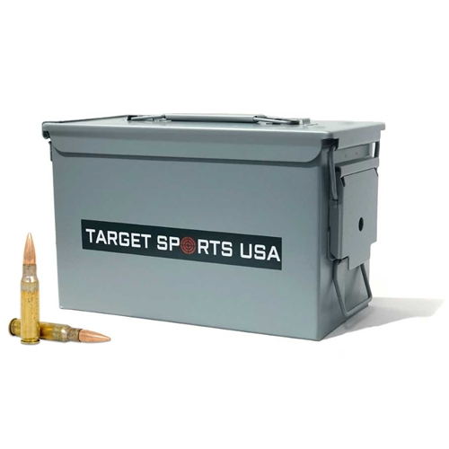 Federal Lake City 7.62x51mm Ammo 149 Grain FMJ Bulk in Target Sports Ammo Can