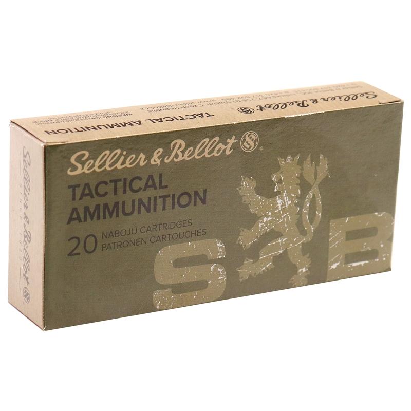 Sellier & Bellot 7.62x39mm Ammo 124 Grain FMJ
