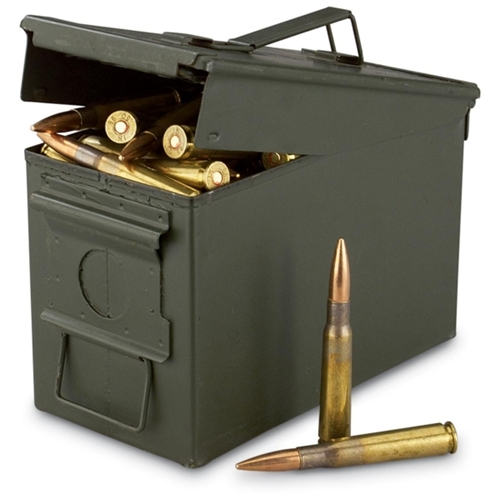 Federal Lake City 50 Cal BMG M33 Ammo 660 Grain FMJ