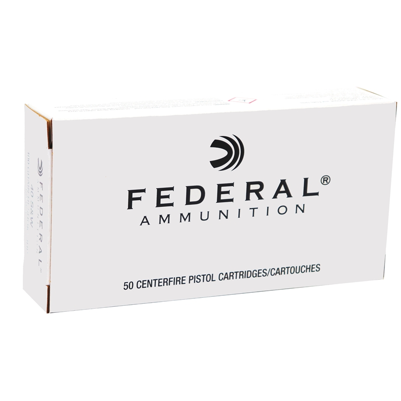 Federal Classic 40 S&W Ammo 180 Grain Hi-Shok JHP
