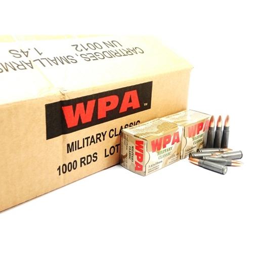 Wolf MC 7.62x39mm Ammo 124 Gr JHP Steel Case Bulk