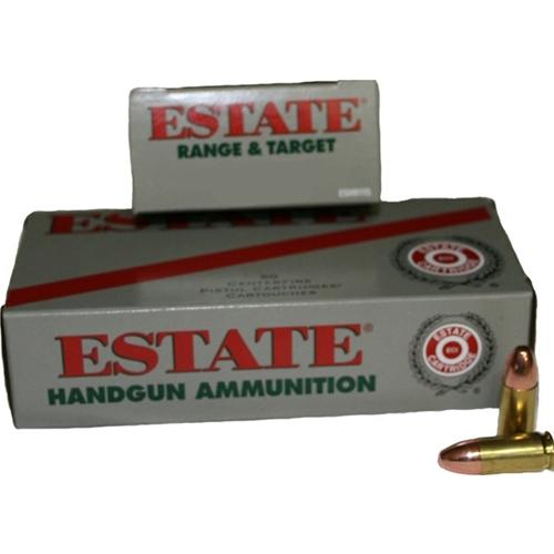 Federal Estate Range 38 Special Ammo 130 Grain Full Metal Jacket