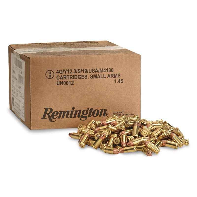 Remington UMC 9mm Luger Ammo 115 Grain FMJ Bulk