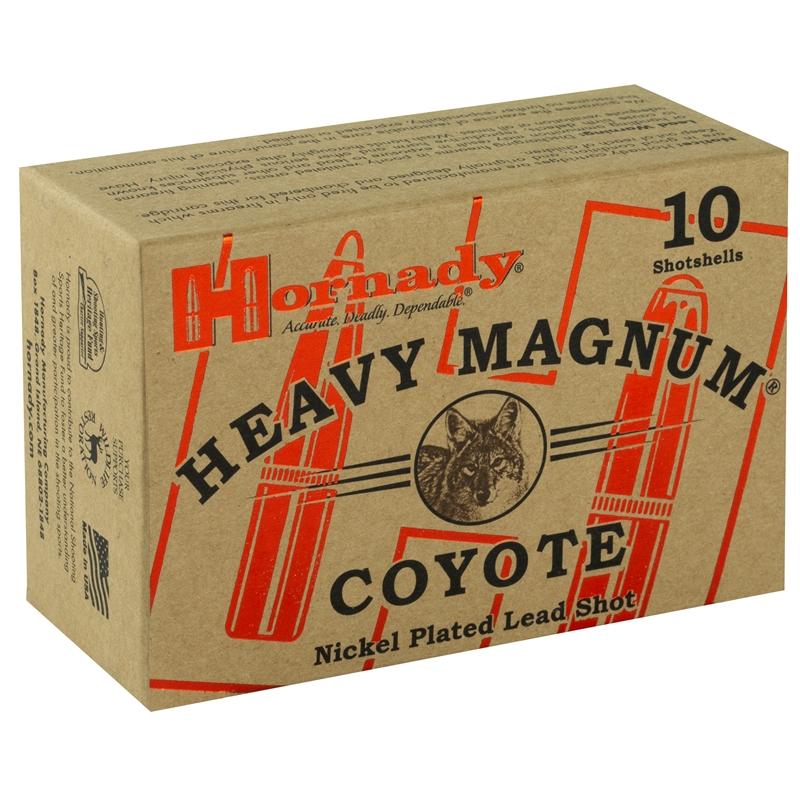 "Hornady Heavy Magnum Coyote 12 Ga Ammo 3"" 00 Buckshot NP"