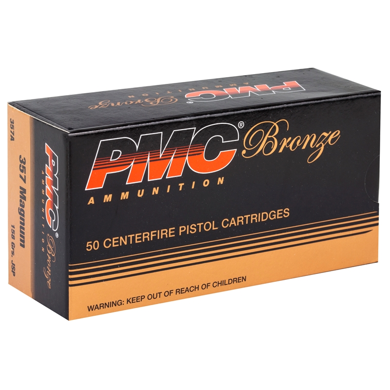 PMC Bronze 357 Magnum 158 Grain Jacketed Soft Point