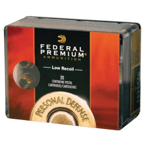 Federal Personal Defense 45 GAP Ammo 185 Grain Hydra-Shok JHP
