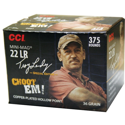 CCI Landry Signature Series 22 Long Rifle 36 Gr. Copper Plated HP