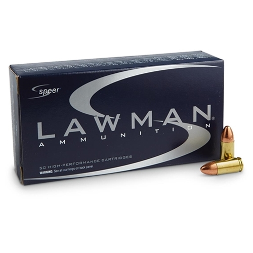 Speer Lawman CleanFire 40 S&W Ammo 165 Grain TMJ