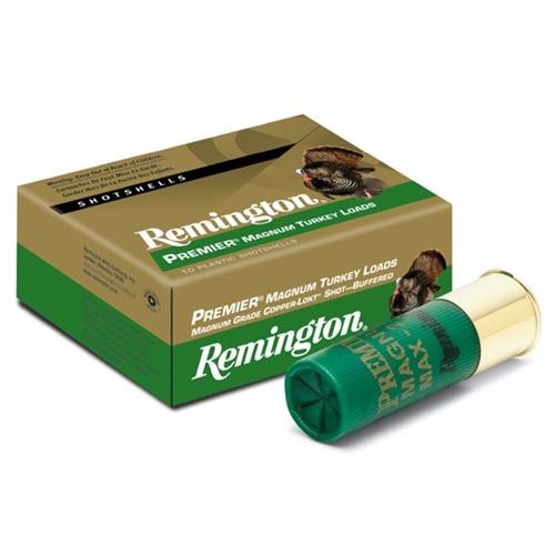 "Remington Premier Magnum Turkey 10 Gauge 3 1/2"" 2 1/4oz #4 Loads"