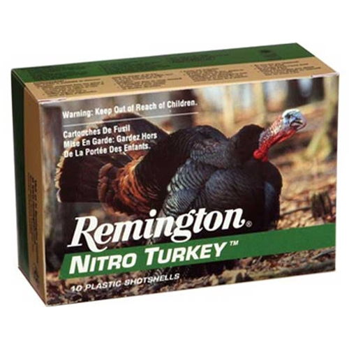"Remington Nitro Turkey Magnum 12 Gauge 3 1/2"" 2oz #4 Shot CPL"