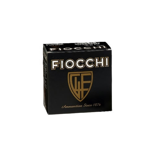 "Fiocchi High Velocity 20 Gauge Ammo 2-3/4"" 1oz #6 Lead Shot"