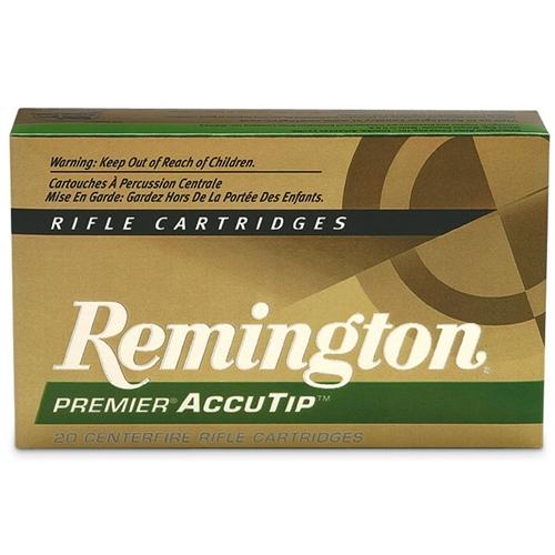 Remington Premier 30-06 Springfield 165 Grain AccuTip Boat Tail