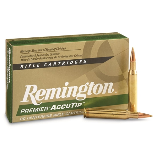 Remington Premier 308 Winchester Ammo 165 Grain Accutip BT