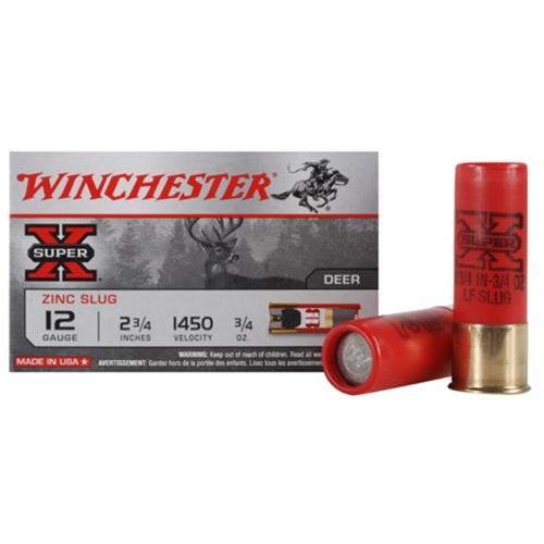 "Winchester Super-X 12 Gauge 2-3/4"" 3/4 oz LFRS"