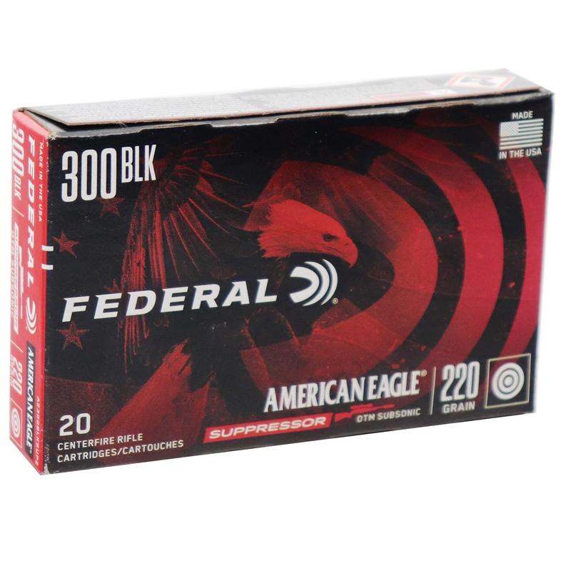 Federal American Eagle 300 AAC Blackout Ammo 220 Grain OTM