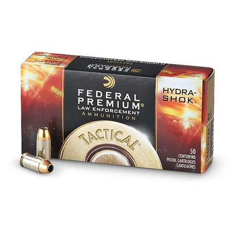 Federal Law Enforcement 45 ACP Auto Ammo 230 Gr Hydra-Shok JHP