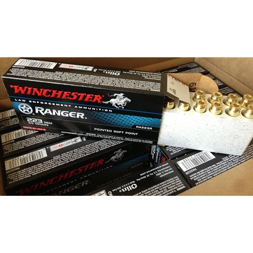 Winchester Ranger 223 Remington Match 69 Grain BJHP