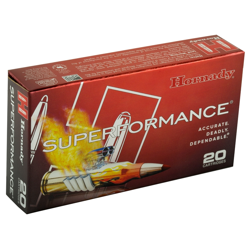 Hornady Superformance 5.56x45mm NATO Ammo 55 Gr GMX HP