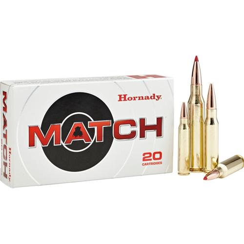 Hornady Custom 223 Remington Ammo 68 Grain Match HPBT