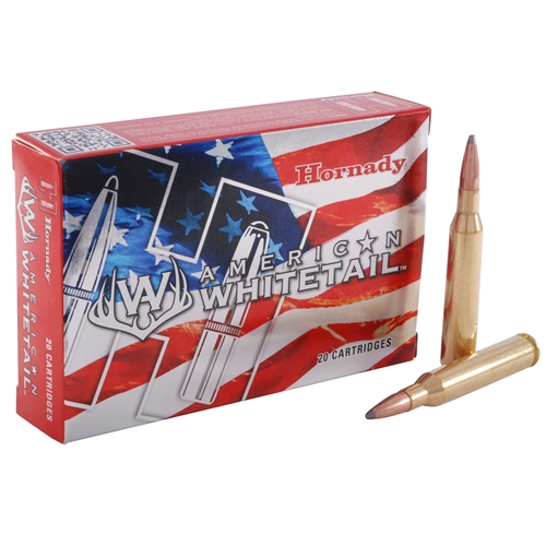 Hornady American Whitetail 7mm Remington Magnum Ammo 139 Gr ISPBT