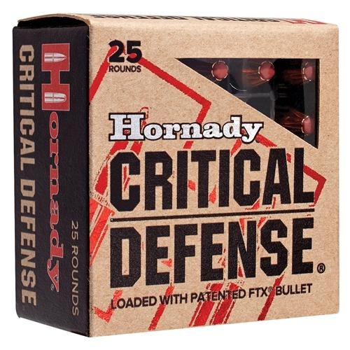 Hornady Critical Defense 32 H&R Magnum Ammo 80 Grain FTX