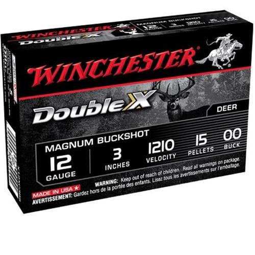 "Winchester Supreme Buckshot 12 Gauge 3"" #00 Buck 15 Pellets"