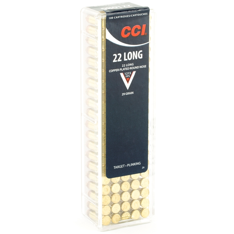 CCI High Velocity  22 Long Ammo 29 Grain Lead Round Nose