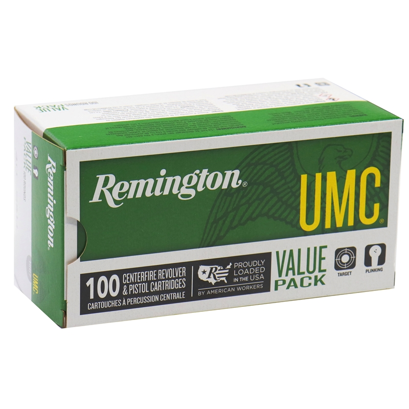 Remington UMC 40 S&W Ammo 180 Grain FMJ Value Pack