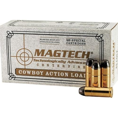Magtech Cowboy Action 45 Long Colt 200 Grain Lead Flat Nose