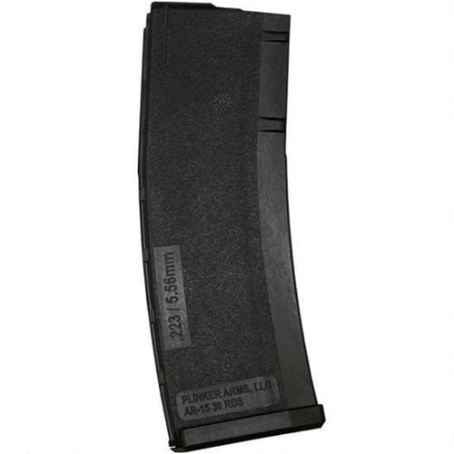 Plinker Tactical AR-15 5.56 NATO/223 Rem Magazine 30 Rounds Black Polymer