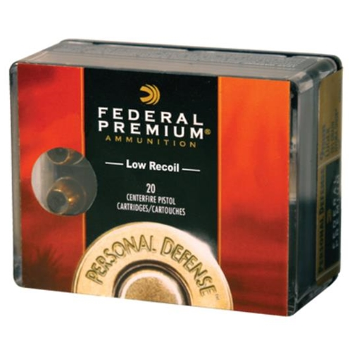 Federal Personal Defense 38 Special Ammo 129 Gr +P Hydra-Shok JHP