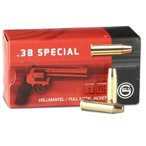 Geco 38 Special Ammo 158 Grain Full Metal Jacket