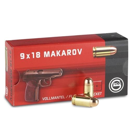 Geco 9mm Makarov Ammo 95 Grain Full Metal Jacket