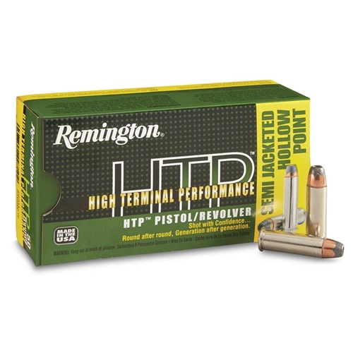 Remington HTP 38 Special Ammo 110 Grain Semi JHP