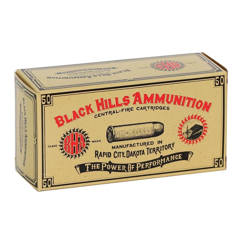 Black Hills Cowboy Action 357 Magnum Ammo 158 Grain LCN