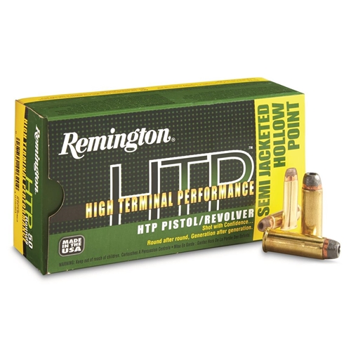 Remington HTP 44 Remington Magnum Ammo 240 Grain SJHP
