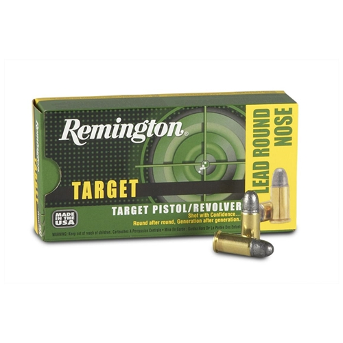 Remington Target 32 S&W Ammo 88 Grain Lead Round Nose