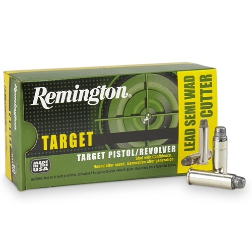 Remington Target 38 Special Ammo 158 Grain Semi-Wadcutter HP