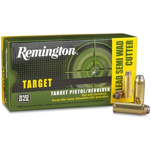 Remington Target 45 Long Colt Ammo 225 Grain Lead Semi-Wadcutter