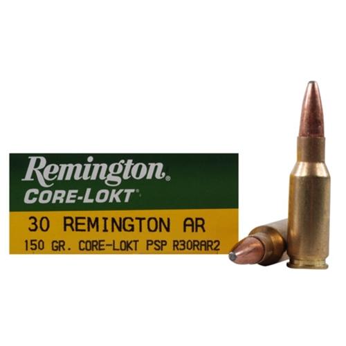 Remington Express 30 Remington AR 150 Grain Core-Lokt PSP