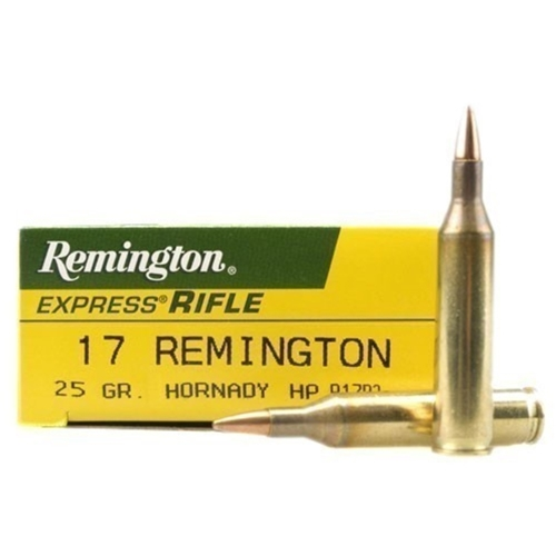 Remington Express 17 Remington 25 Grain Hornady HP