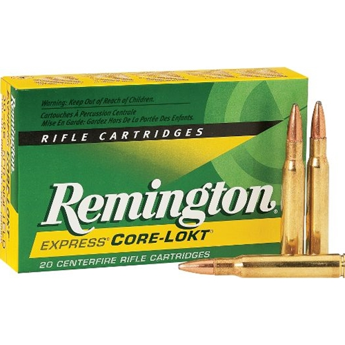 Remington Express 30-06 Springfield Ammo 125 Grain Core-Lokt PSP