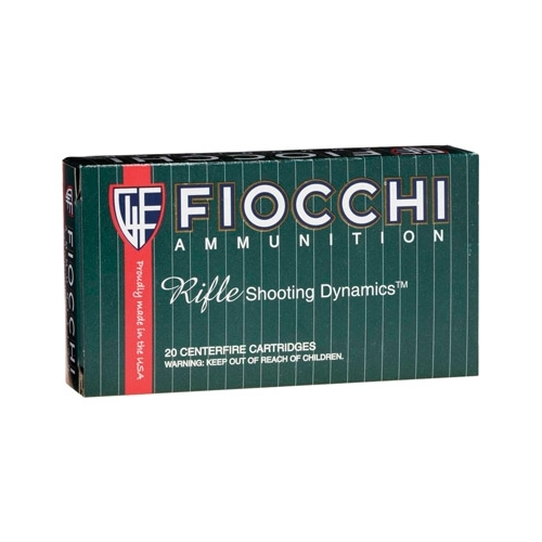 Fiocchi Shooting Dynamics 308 Winchester Ammo 165 Grain SPBT