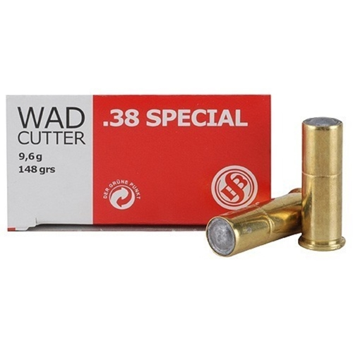 Sellier & Bellot 38 Special Ammo 148 Grain Wadcutter