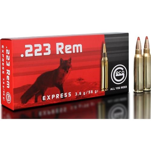 Geco 223 Remington Ammo 55 Grain Full Metal Jacket