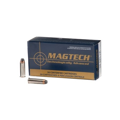 Magtech Sport 38 Special Ammo 158 Grain Semi-Jacketed Hollow Point