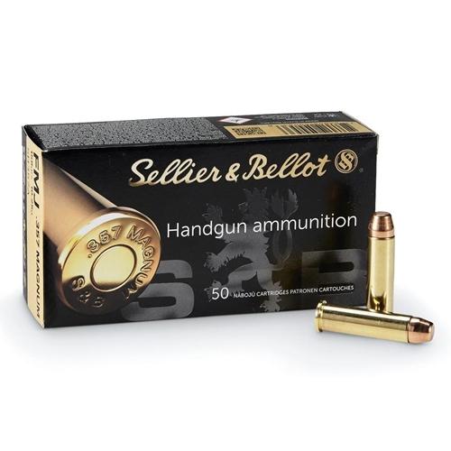 Sellier & Bellot 357 Magnum Ammo 158 Grain FMJ