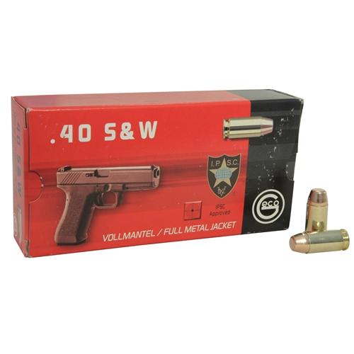 Geco Ammo 40 S&W 180 Grain Full Metal Jacket Ammunition